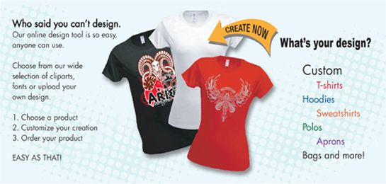 Start Your Designs With Silkscreen Pro S Design Studio